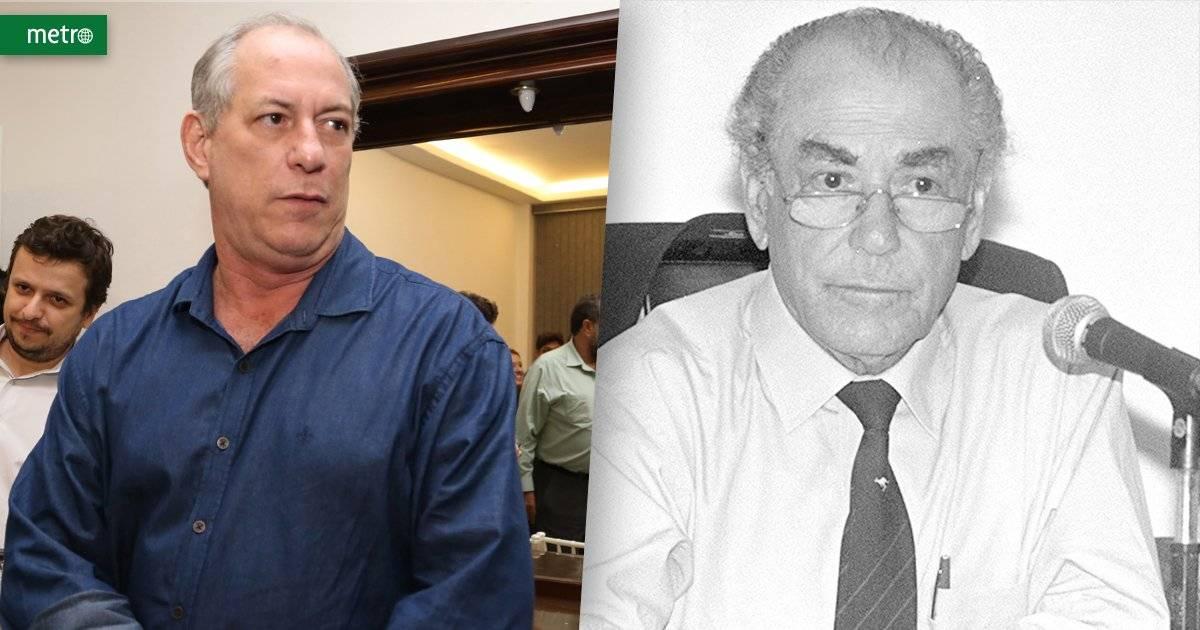 Ciro Gomes e Leonel Brizola