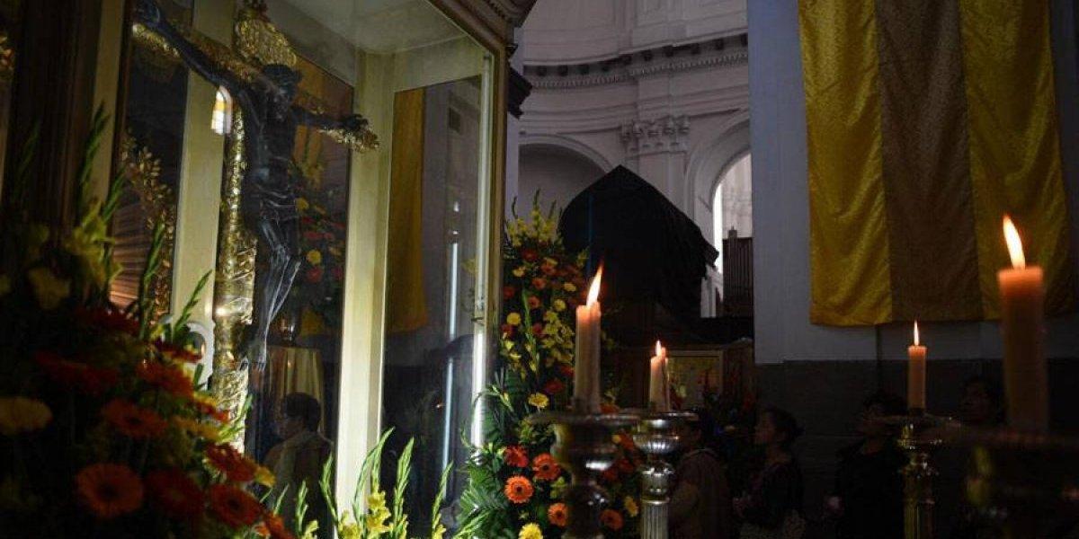 Feligresía católica celebra hoy al Cristo Negro de Esquipulas