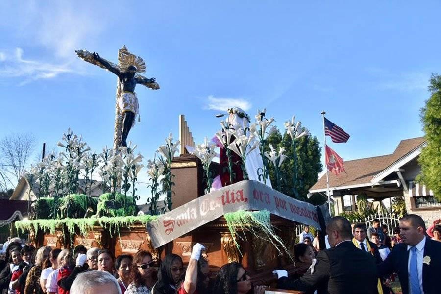 Cristo Mojado en Los Ángeles