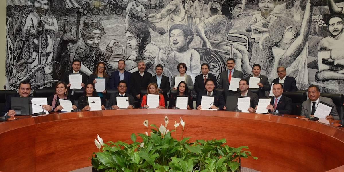 Delegados de Morena rechazan firmar pacto de civilidad convocado por Mancera