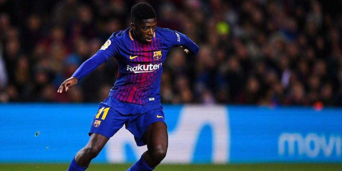 Dembelé vuelve a causar baja con Barcelona por lesión