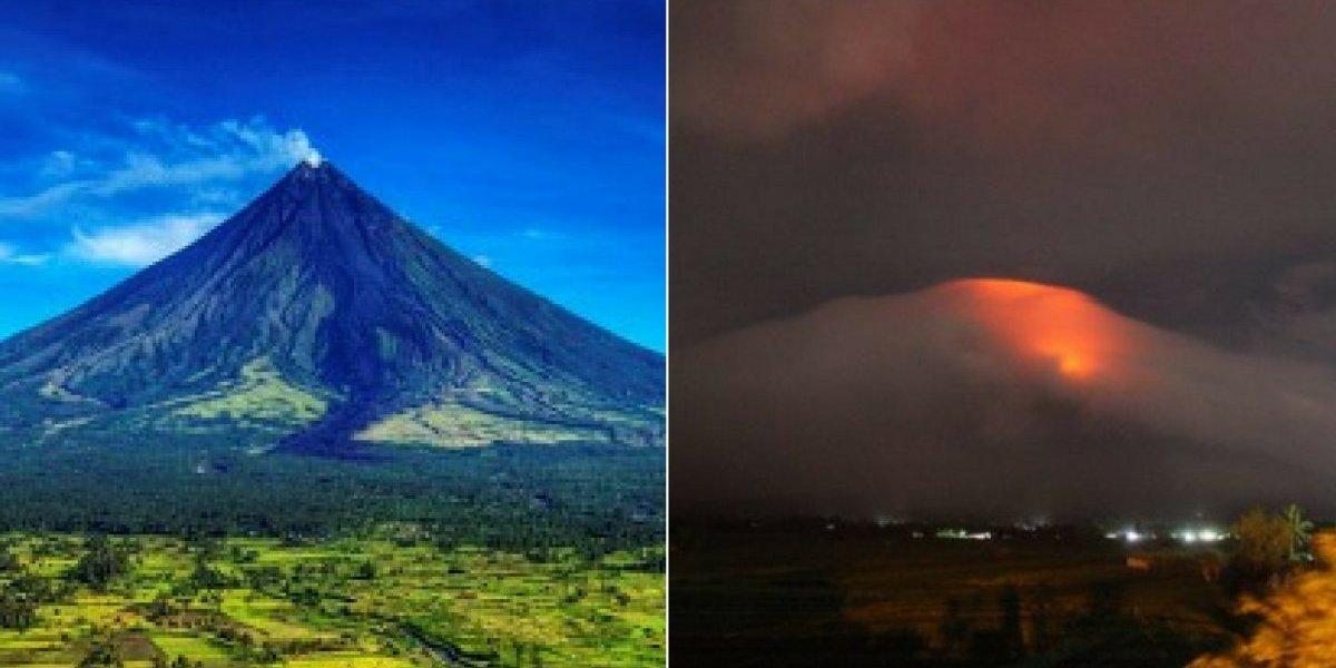 As supreendentes imagens do vulcão que deixa as Filipinas em estado de alerta