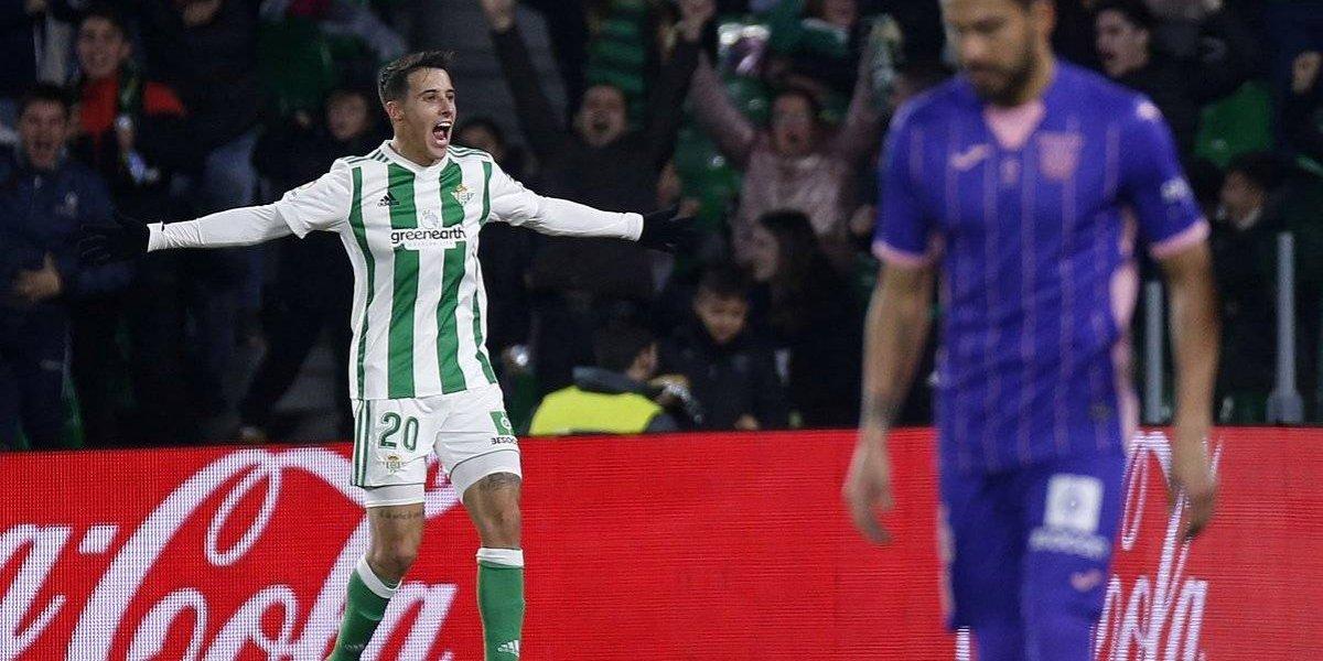 Con Guardado de titular, Real Betis derrota a Leganés