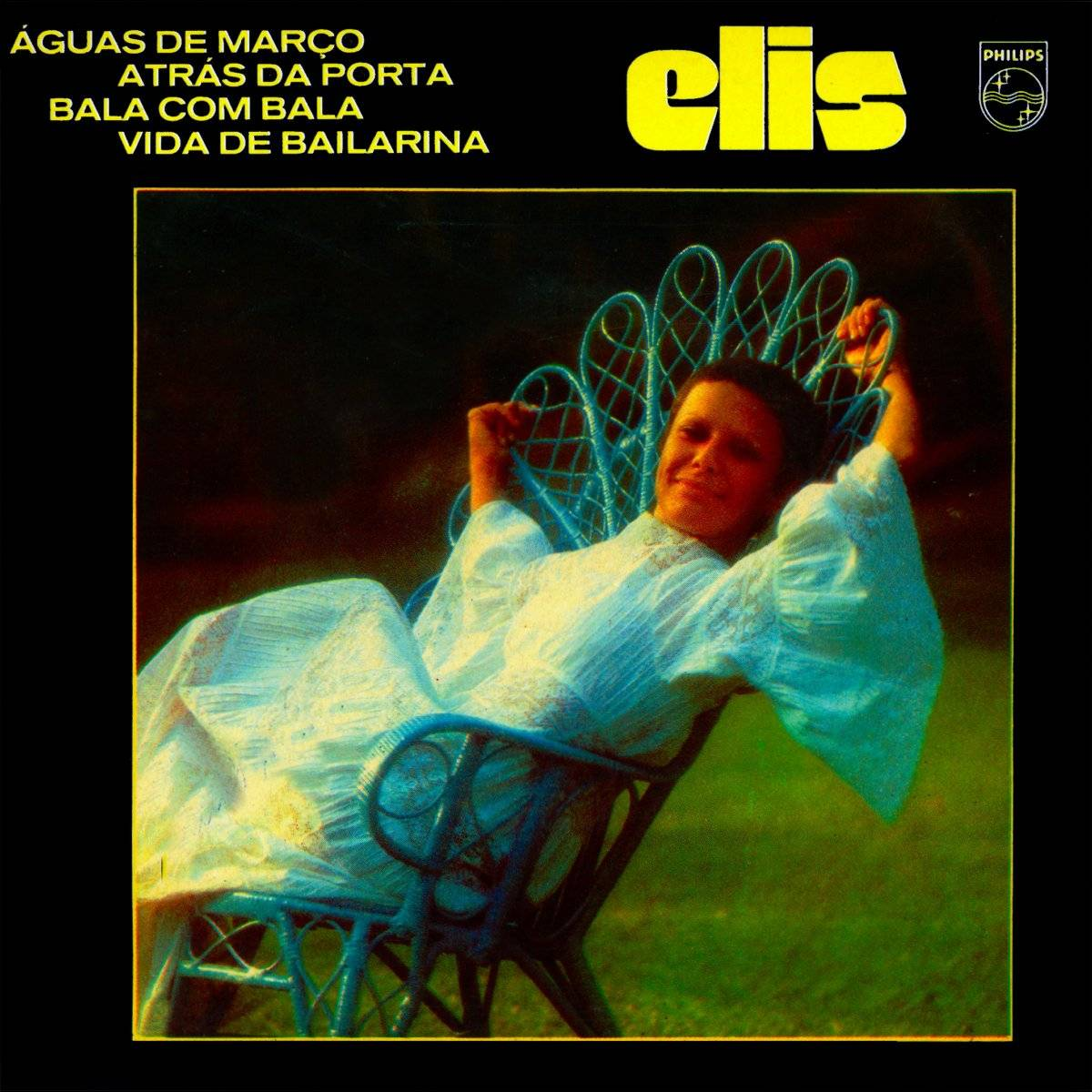 Elis Regina capa do disco Elis 1972