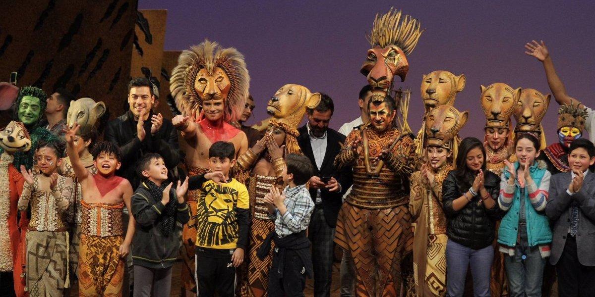 Así fue la última presentación del musical El Rey León