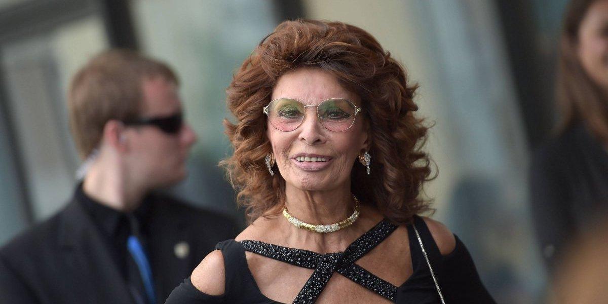 """Sophia Loren: """"No vine al cine para presumir"""""""