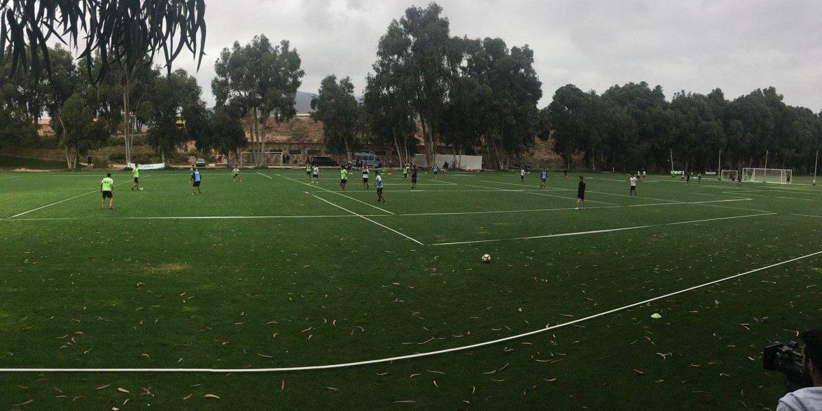 Intensidad y presión: las consignas de Guede en las prácticas de Colo Colo en La Serena
