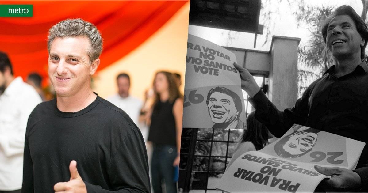 Luciano Huck x Silvio Santos