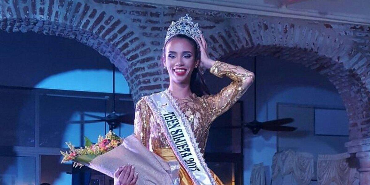 "Laury Díaz es ""Miss Teen Silueta Internacional"""