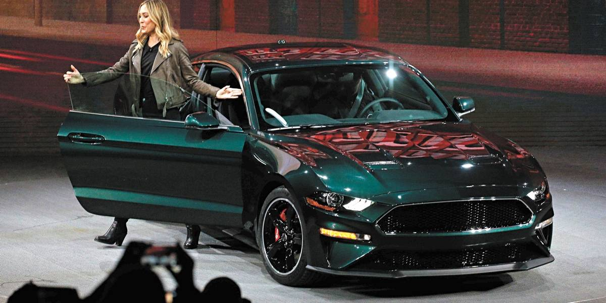 Ford retoma produção do Mustang Bullit