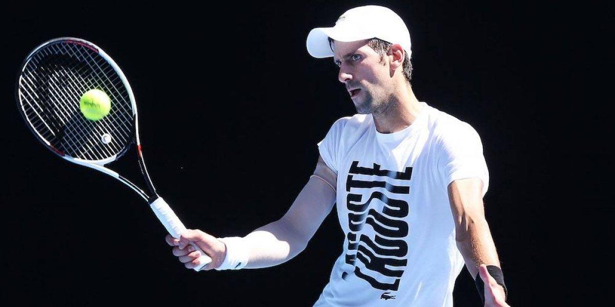 VIDEO: Novak Djokovic celebra su regreso a las canchas con peculiar baile