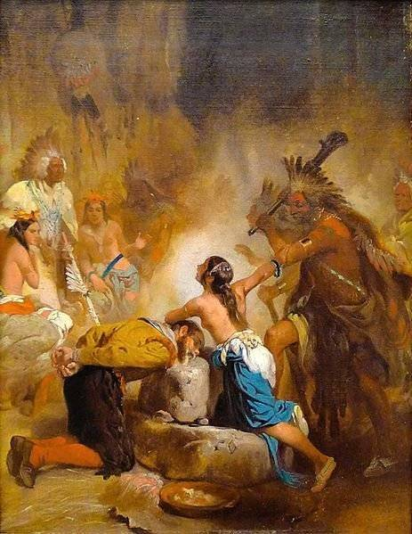 Pocahontas y John Smith