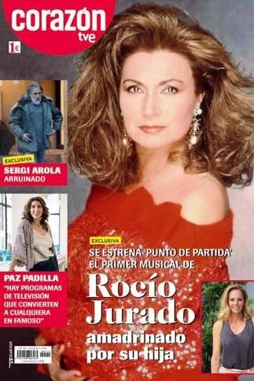 Portada revista Corazón TVE