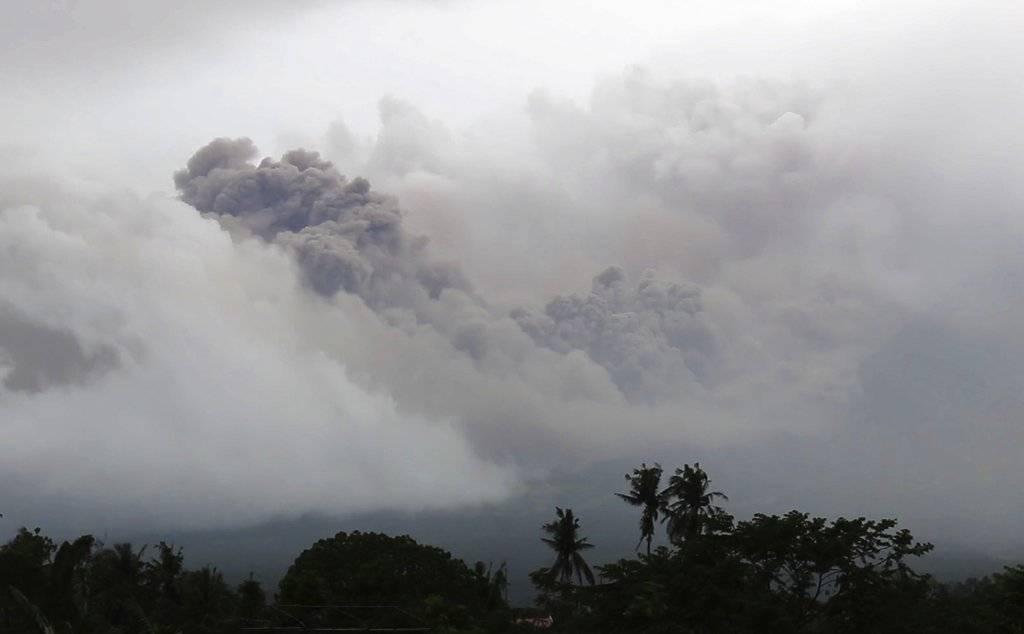 Monte Mayón, en Filipinas