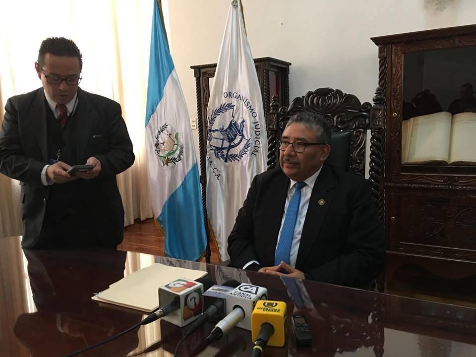 presidente de la CSJ, José Pineda