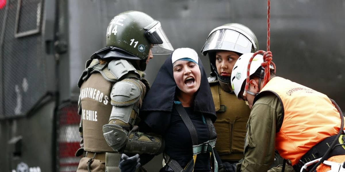 Protestas contra curas pederastas empañan visita del Papa a Chile