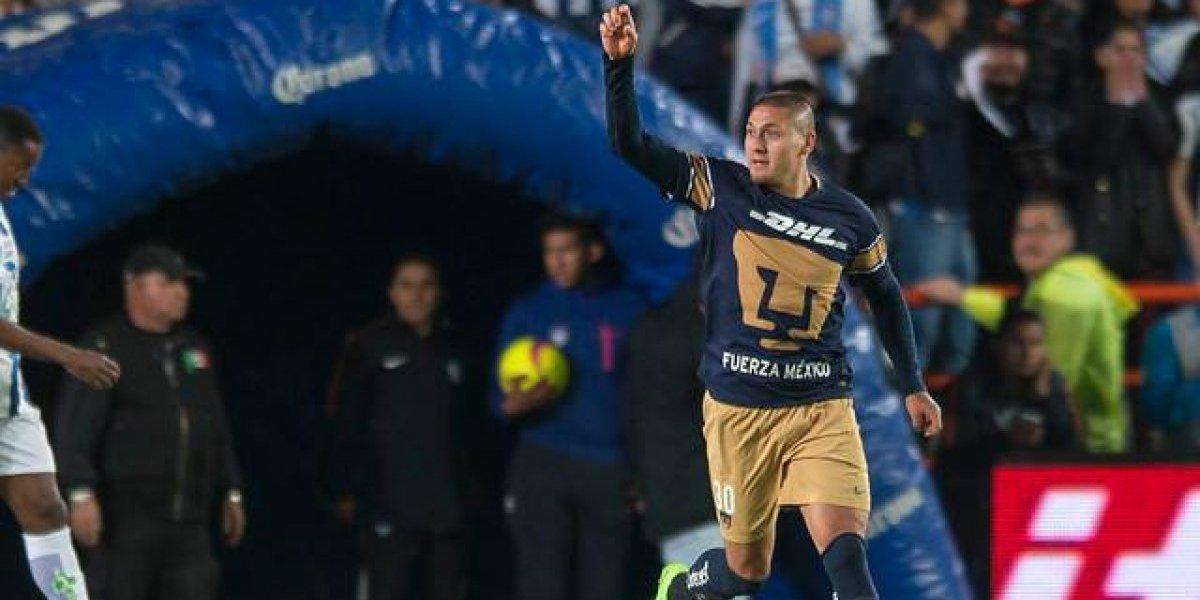 Figura: Nicolás Castillo fue elegido como el mejor jugador de la segunda fecha de la Liga MX