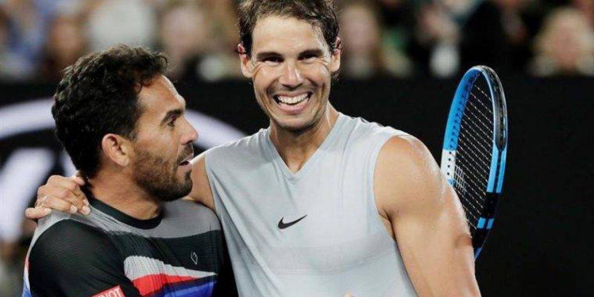 Rafael Nadal derrota a Victor Estrella sin contemplaciones