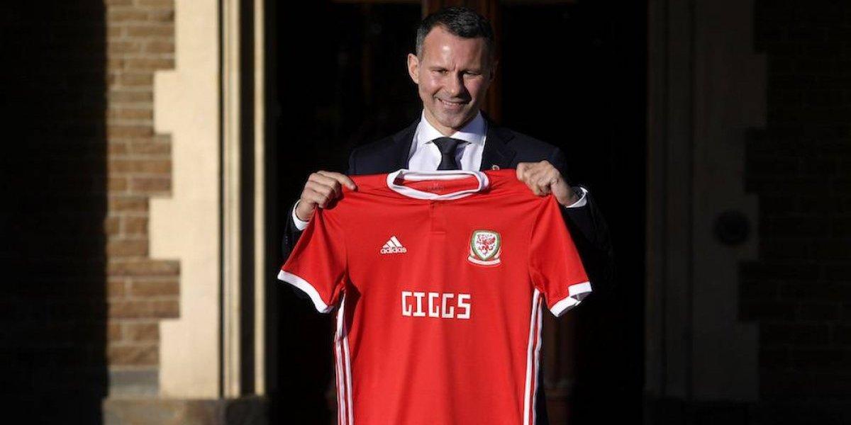 Nombran a Ryan Giggs como entrenador de la selección de Gales