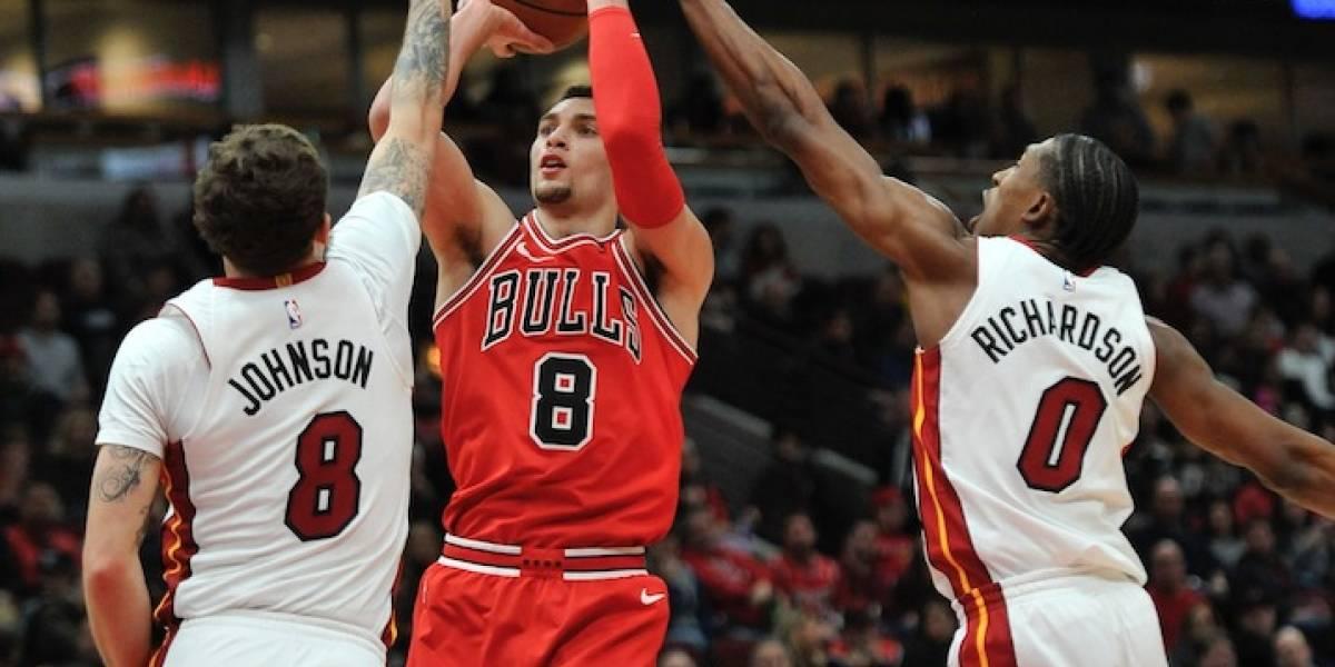 Chicago Bulls enfrían al Miami Heat