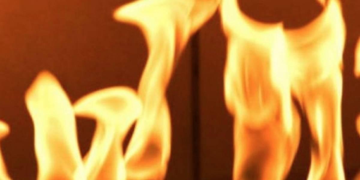 Incendio en edificio de Condado