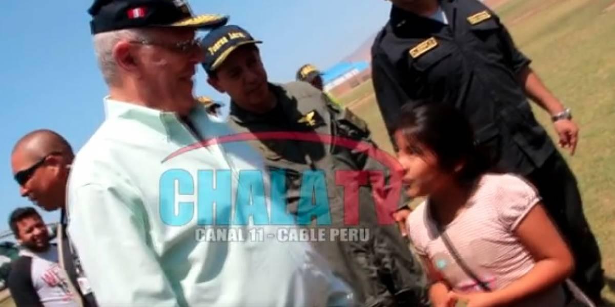 'Aquí tienes todo el mar', la burla de Kuczynski a niña sedienta tras sismo en Perú
