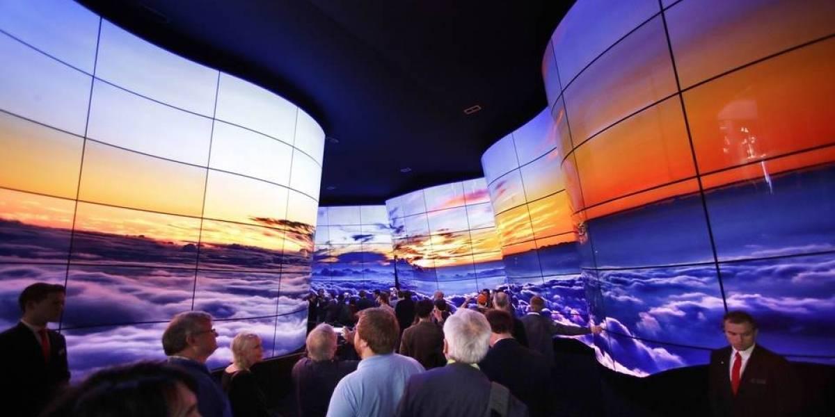 """CES 2018: Estas pantallas te permitían conocer las """"maravillas naturales"""""""