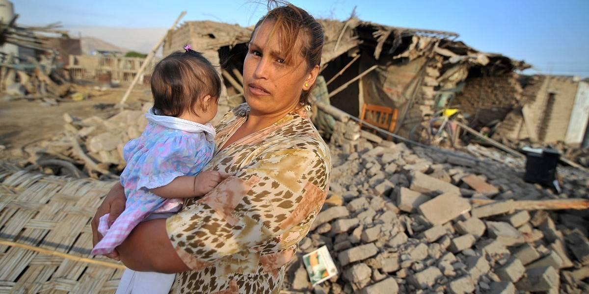 Veja imagens dramáticas do terremoto no Peru