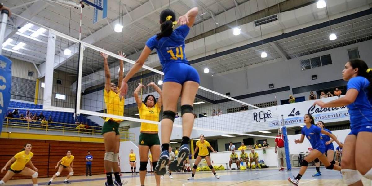 Rumbo a la recta final el torneo de voleibol de la LAI