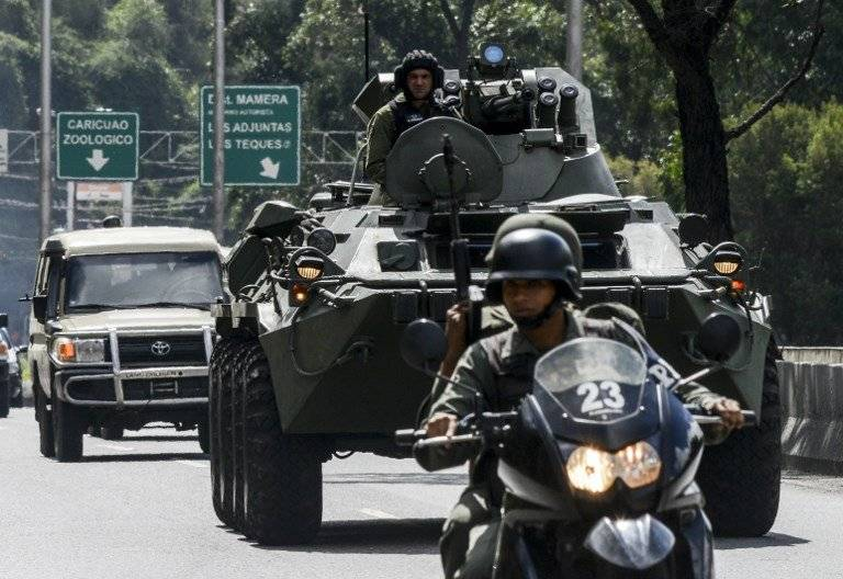 Operación contra el grupo de Óscar Pérez