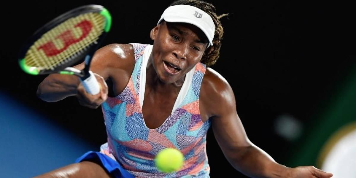 Venus Williams cae en primera ronda del Abierto de Australia