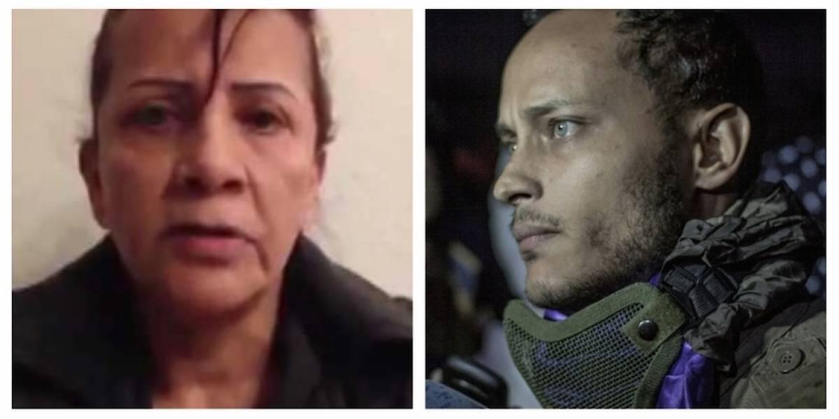 VIDEO. El desesperado pedido de la madre del piloto Óscar Pérez