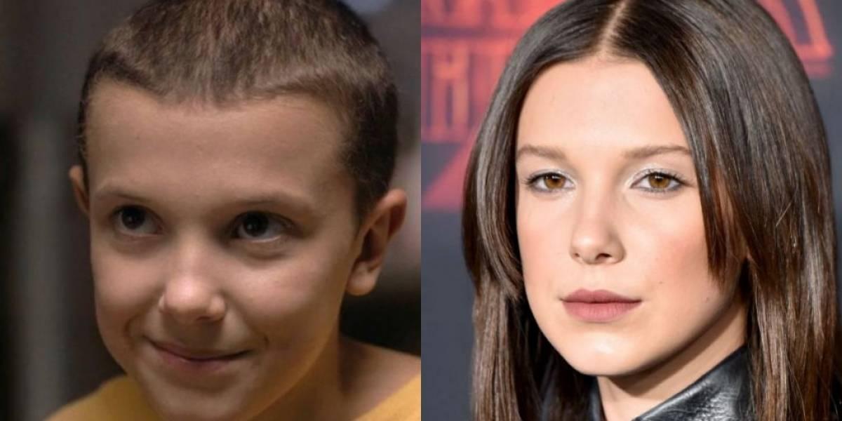 """Millie Bobby Brown relembra cabeça raspada de Eleven: """"Você não precisa de cabelo para ser bonita"""""""