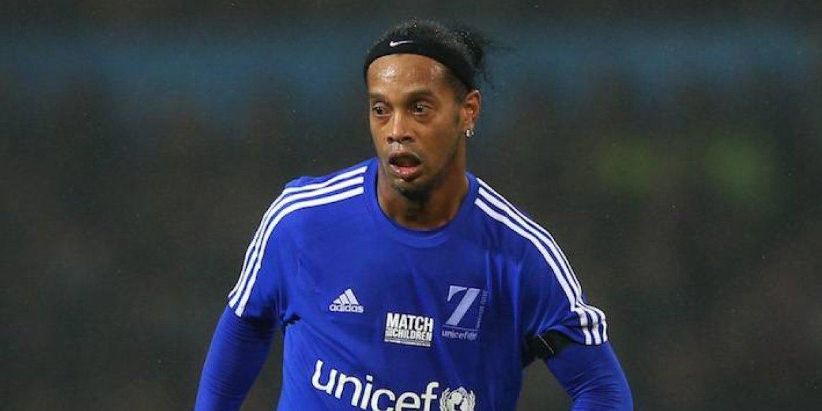 Ronaldinho se retira del futbol y tendrá gira de despedida