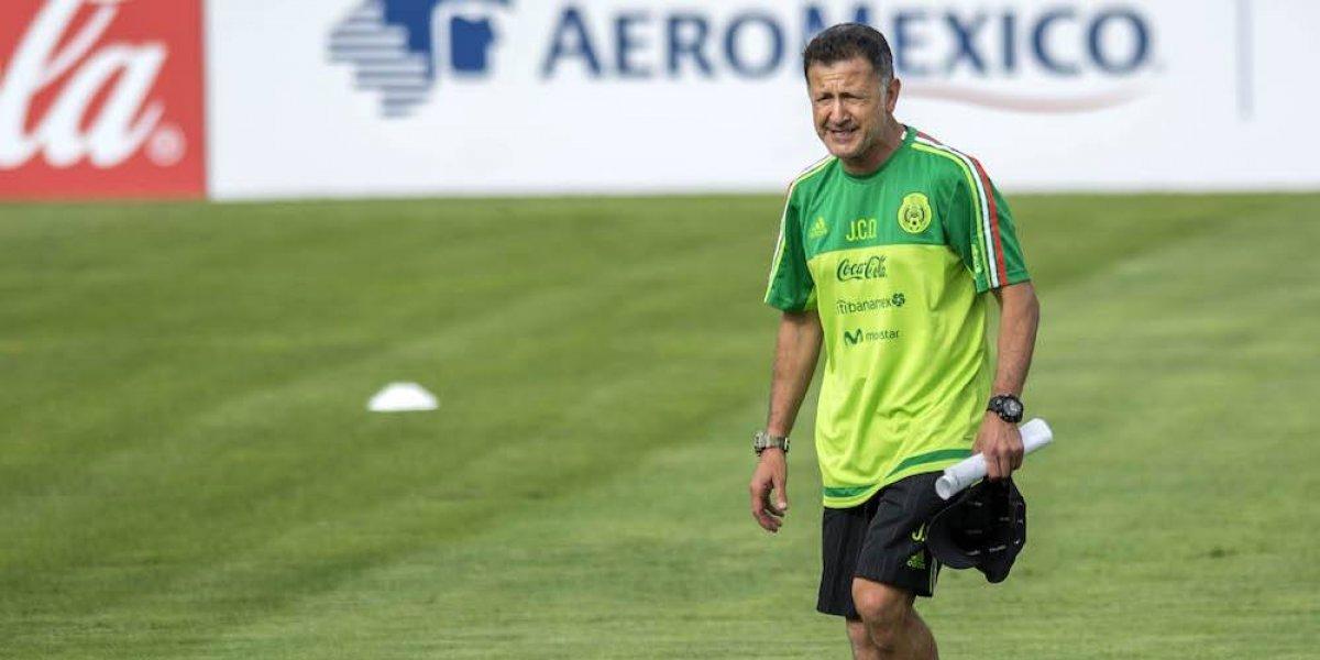 Osorio sigue contemplando a Chicharito y Jiménez pese a falta de actividad