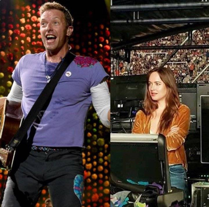 dakota johson y chris martin