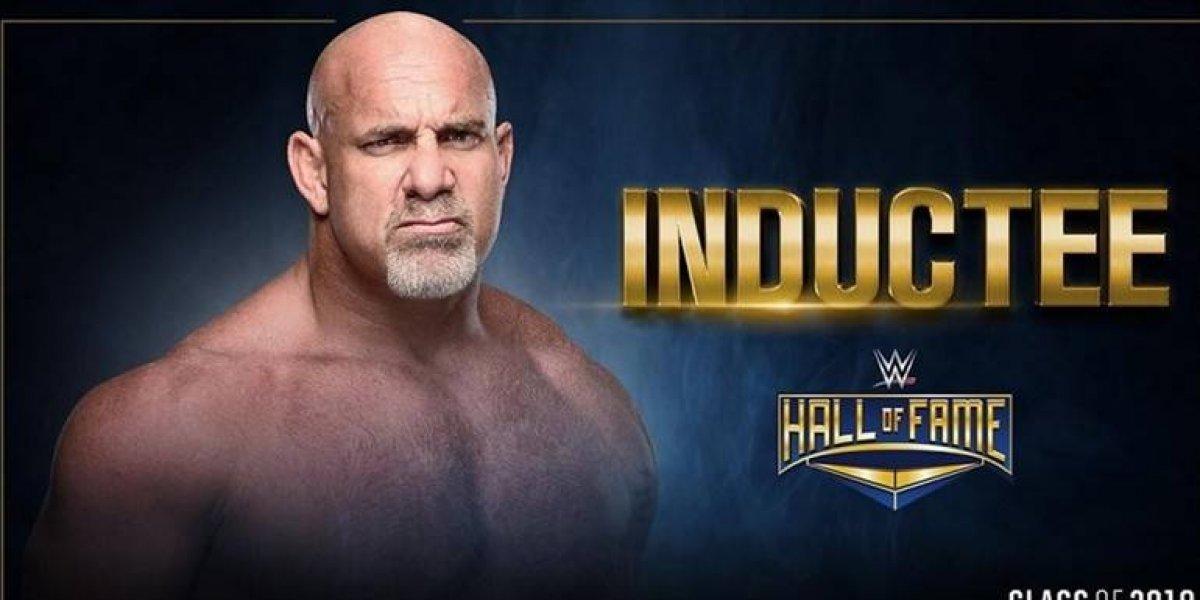 Merecido reconocimiento: Goldberg fue inducido al Salón de la Fama de la WWE
