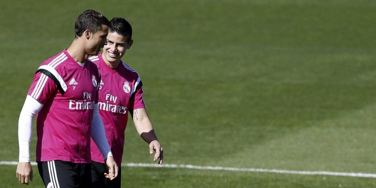 James revela a su excompañeros quién será el nuevo DT del Real Madrid