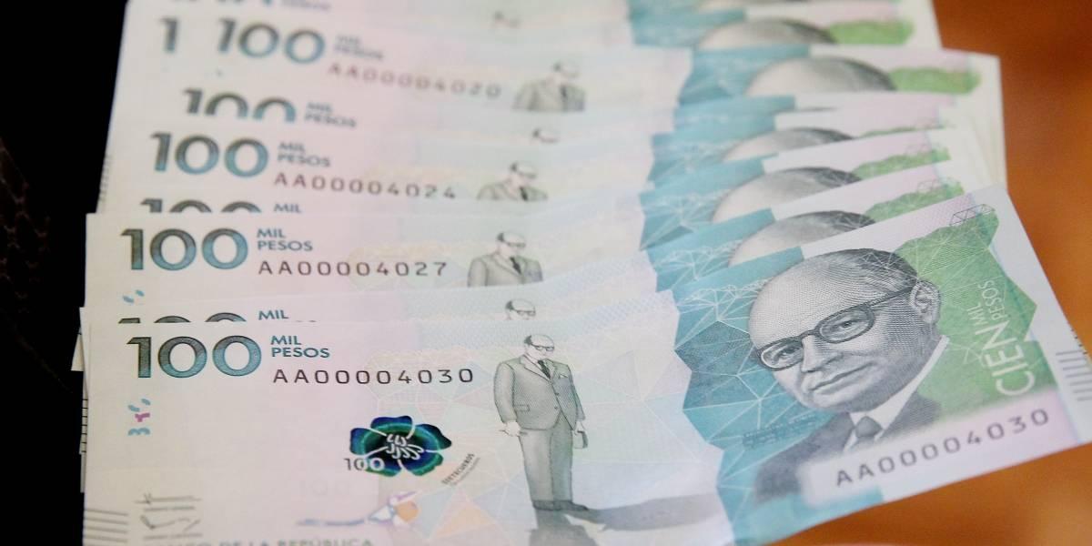 Banco de la República: billetes de 50.000 y 100.000 pesos seguirán circulando