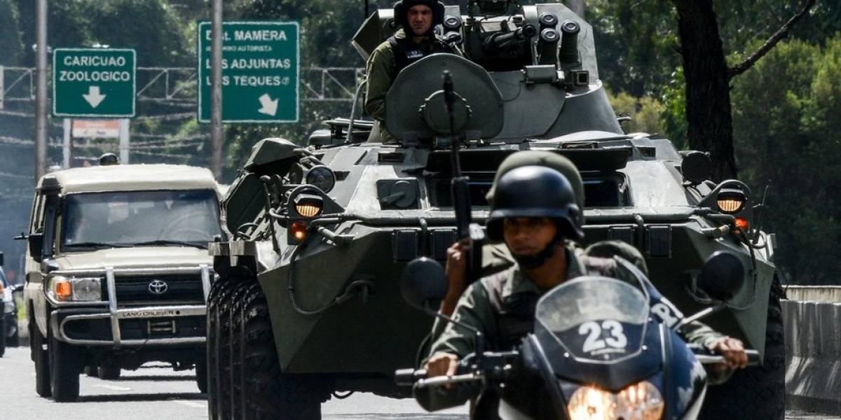 """""""Van a tener que pasar por nuestros cadáveres"""": la dura advertencia de las Fuerzas Armadas venezolanas a Trump"""