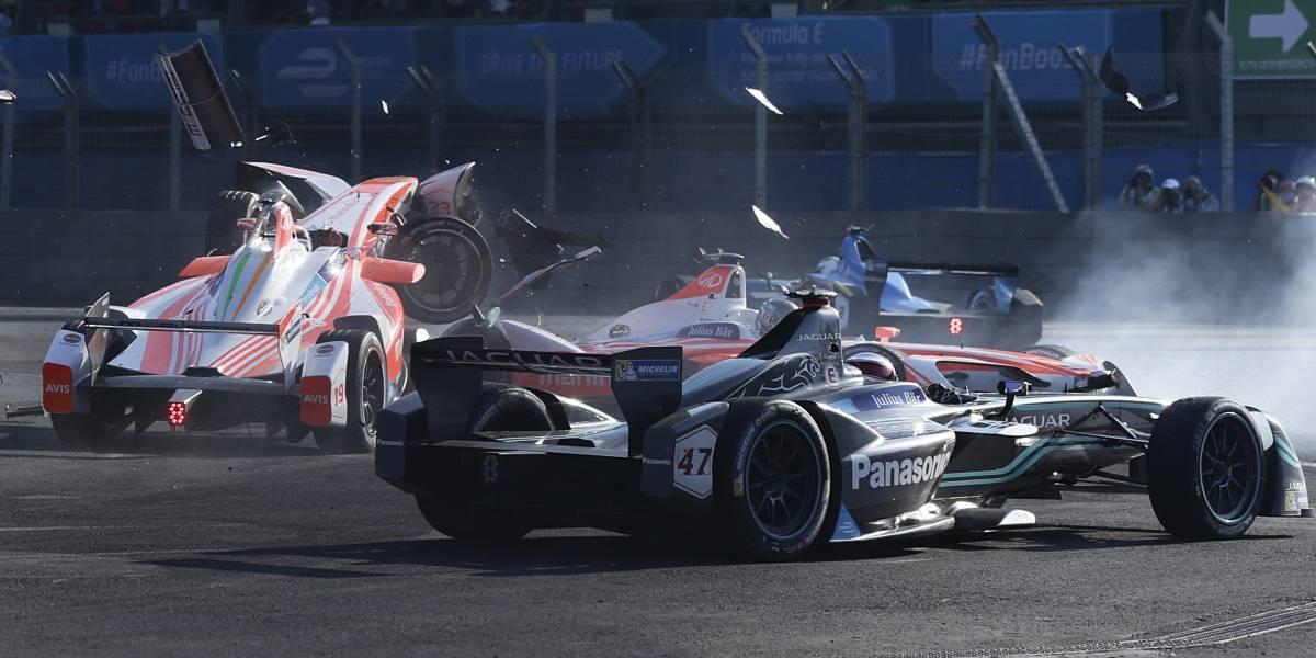 Felix Rosenqvist llegará como líder a la fecha de la Fórmula E en Santiago