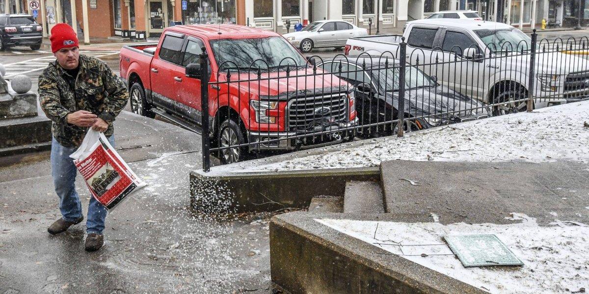Texas convertido en heladera por ola de frío