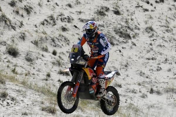 El español Joan Barreda acusó problemas físicos y abandonó el Rally Dakar