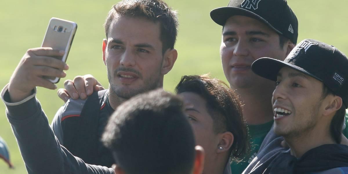 Octavio Rivero comenzó su recuperación en Colo Colo en el tercer día de prácticas en La Serena
