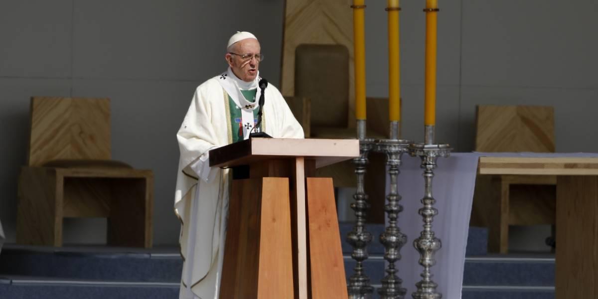 """El mensaje del Papa Francisco en misa desde Chile: """"¿Quiere dicha, quiere felicidad? Trabaja por la paz, trabaja por la justicia"""""""