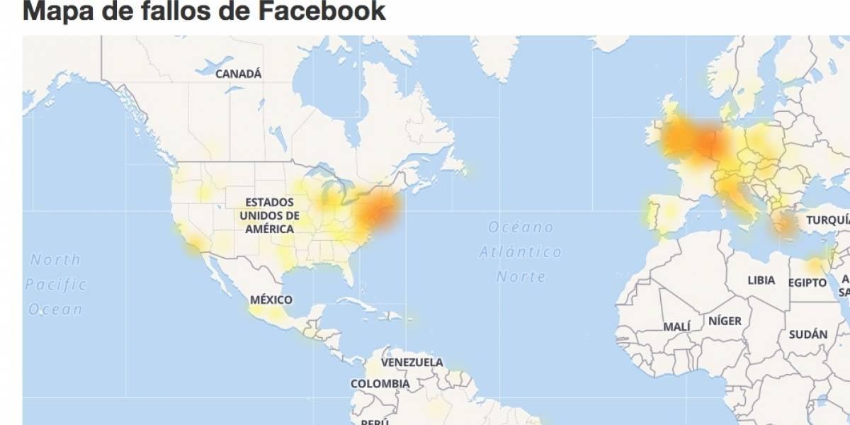 Facebook: usuarios reportan caída del servicio a nivel mundial
