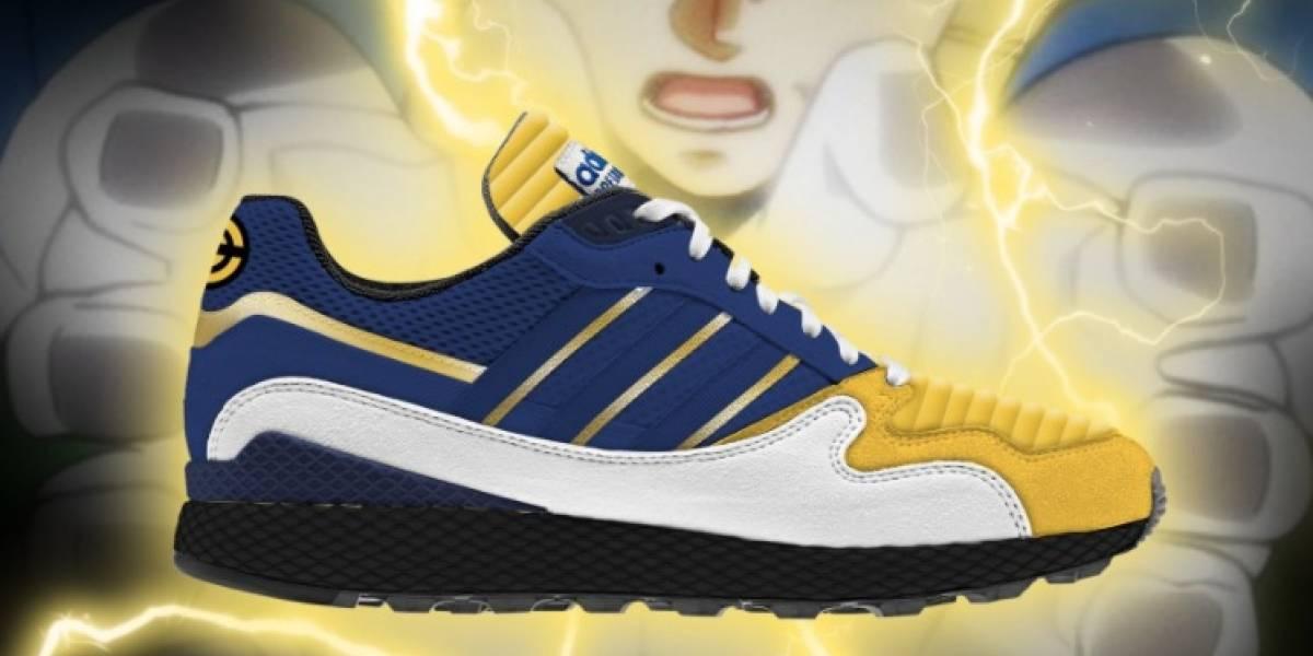 Filtran los zapatos inspirados en Goku y Vegeta
