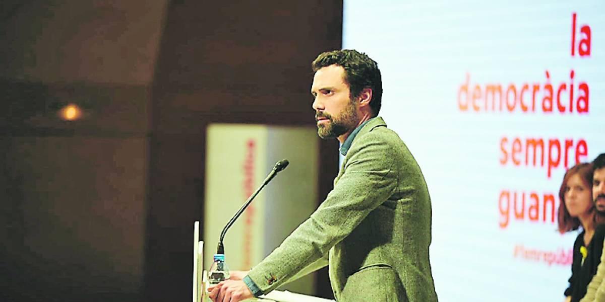 Roger Torrent es la nueva carta para presidir Cataluña