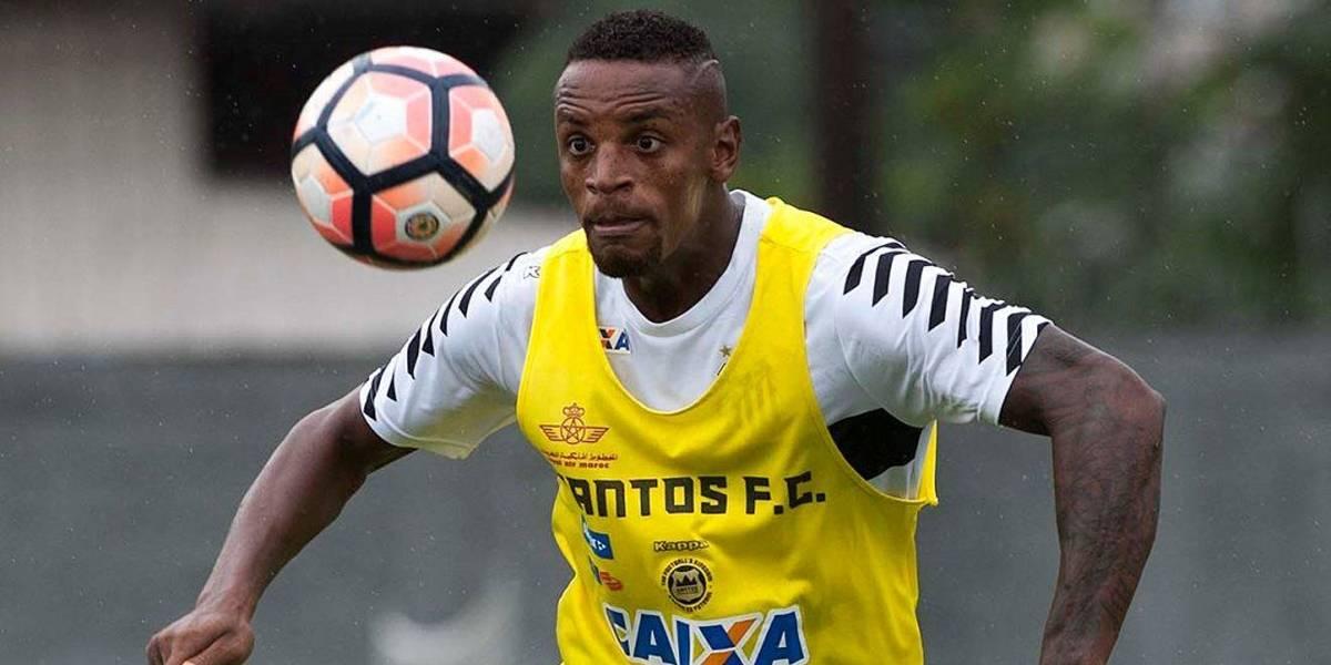 Santos empresta o zagueiro Cleber para o Vasco
