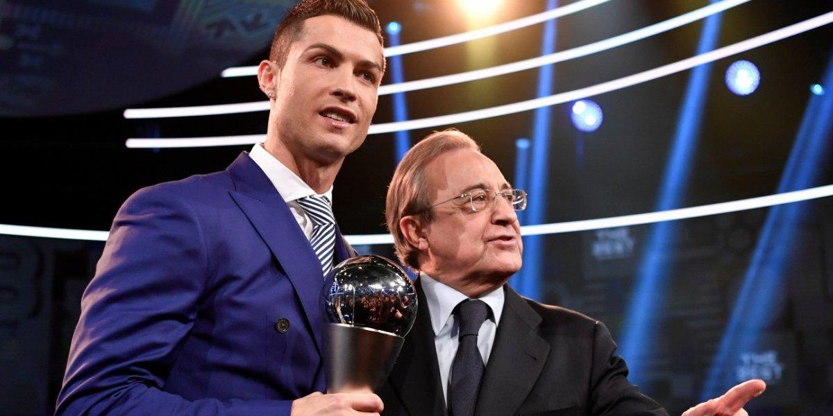 Disgusto entre Cristiano Ronaldo y Florentino Pérez crece y Messi sale al tema